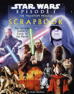Phantom Menace scrapbook