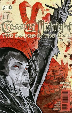 Cover for Crossing Midnight #17