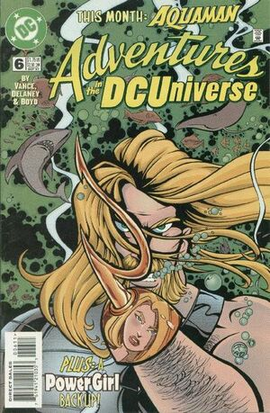 Cover for Adventures in the DC Universe #6