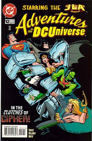 Cover for Adventures in the DC Universe #12