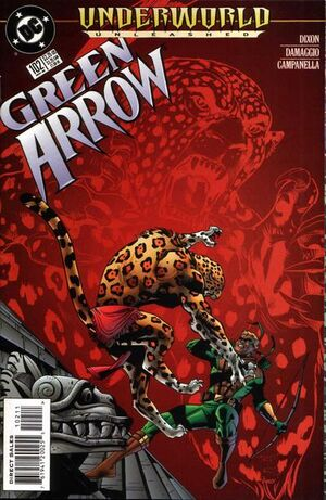 Cover for Green Arrow #102
