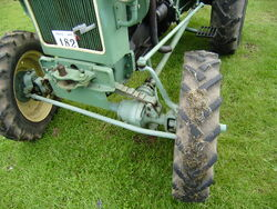 MAN tractor 4-WD axle detail-P8100529