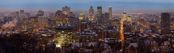 Tn Montreal Twilight Panorama 2006
