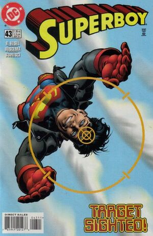 Cover for Superboy #43