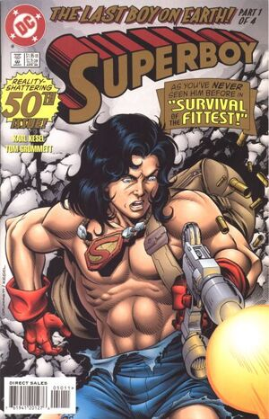 Cover for Superboy #50