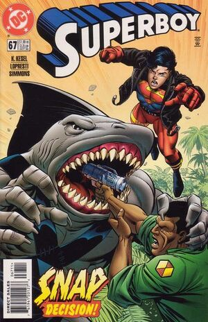 Cover for Superboy #67