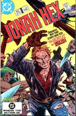 Cover for Jonah Hex #69