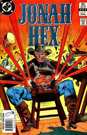 Cover for Jonah Hex #71