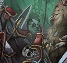 Pandaren in artwork
