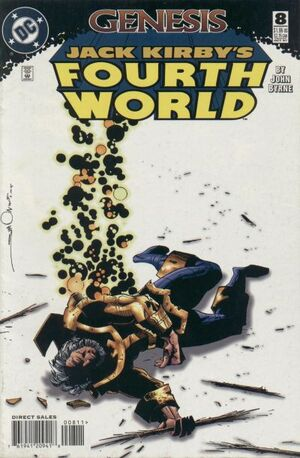 Cover for Jack Kirby&#39;s Fourth World #8