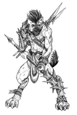 Osirian gnoll