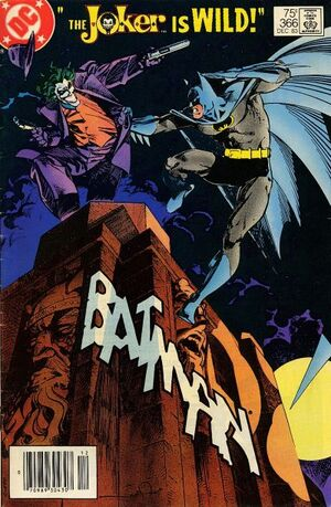 Cover for Batman #366