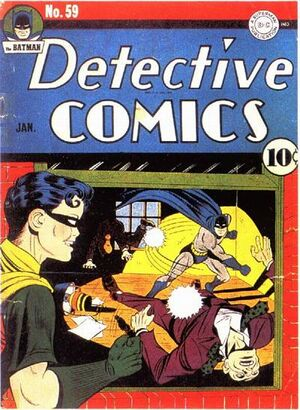 Cover for Detective Comics #59