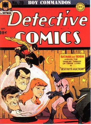 Cover for Detective Comics #79