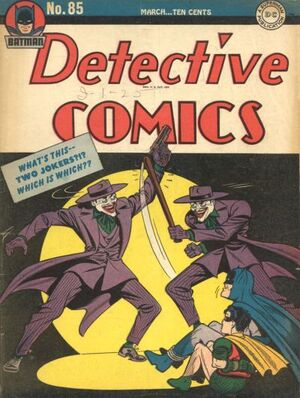 Cover for Detective Comics #85