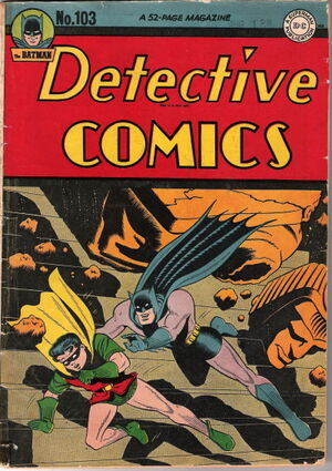 Cover for Detective Comics #103