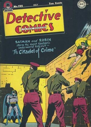 Cover for Detective Comics #125