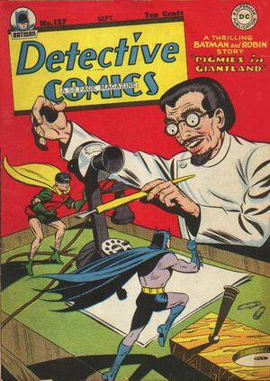 Cover for Detective Comics #127