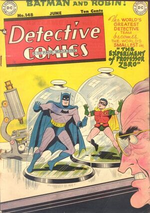 Cover for Detective Comics #148