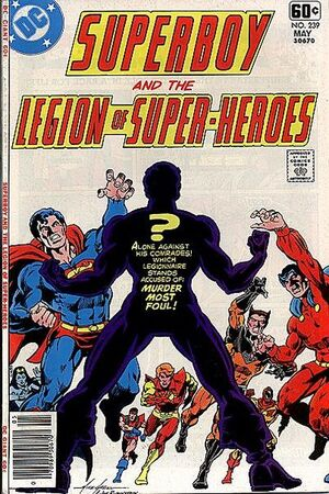 Cover for Superboy and the Legion of Super-Heroes #239