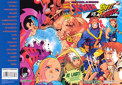 X-Men vs Street Fighter flyer
