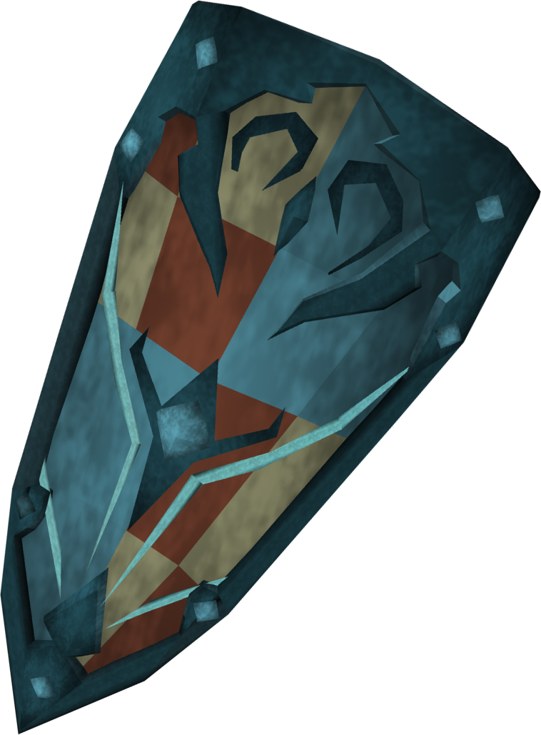 Rune shield (h3) detail