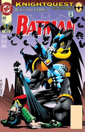 Cover for Detective Comics #668