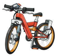 Bici acrobtica artwork