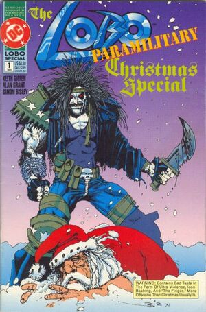 Cover for Lobo Paramilitary Christmas Special #1