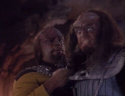 Worf Gowron Rightful Heir