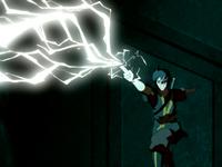 ~ Control del fuego: Redireción de rayos. 200px-Zuko_redirects_lightning