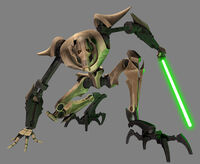 Grievous crouch