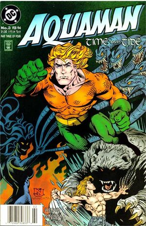Cover for Aquaman: Time and Tide #3