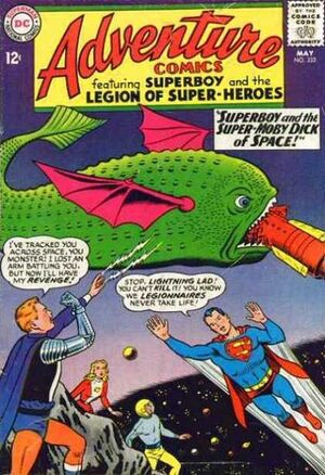 Cover for Adventure Comics #332