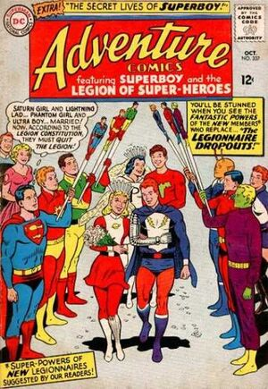 Cover for Adventure Comics #337