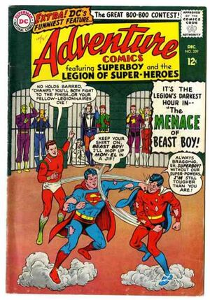 Cover for Adventure Comics #339