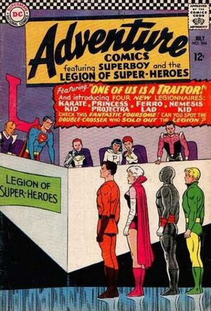 Cover for Adventure Comics #346
