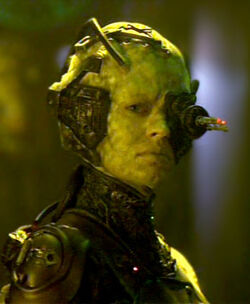 Seven as borg
