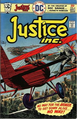 Cover for Justice, Inc. #4