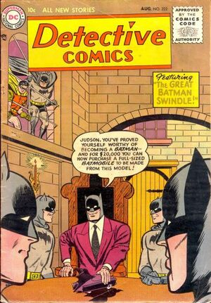 Cover for Detective Comics #222