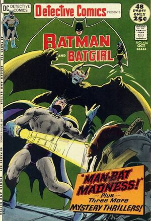Cover for Detective Comics #416
