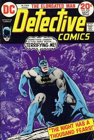 Cover for Detective Comics #436