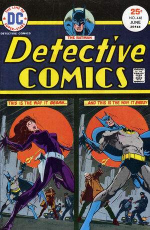Cover for Detective Comics #448