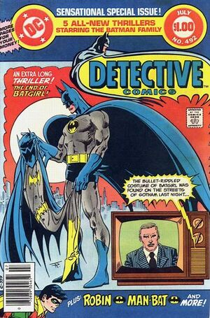 Cover for Detective Comics #492