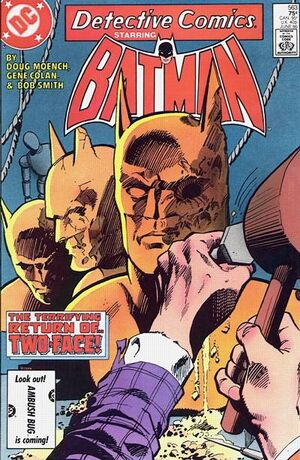 Cover for Detective Comics #563