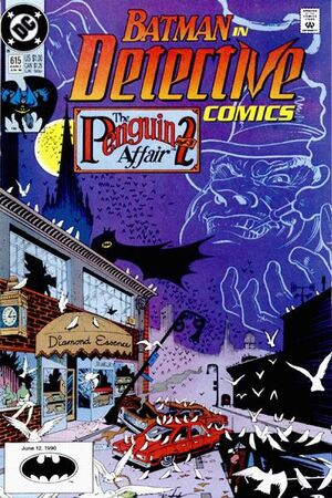 Cover for Detective Comics #615