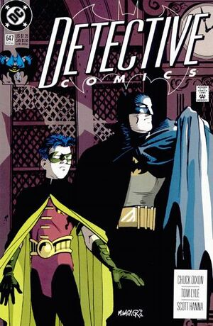 Cover for Detective Comics #647