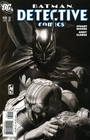 Cover for Detective Comics #830