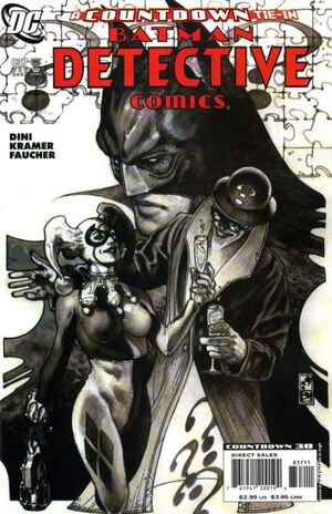 Cover for Detective Comics #837