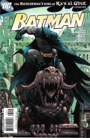 Cover for Batman #670